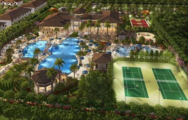 Pinnacle Park Central Single Family Homes Doral Florida