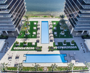 Prive Aerial Pool Deck