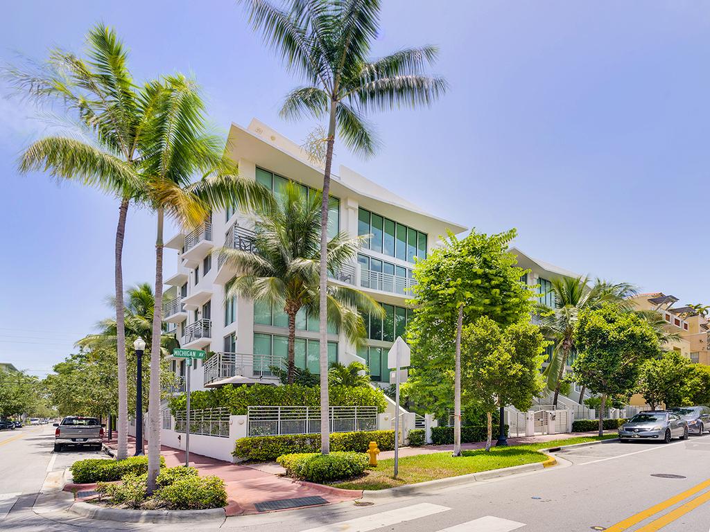 Michigan Avenue Miami Beach Fl